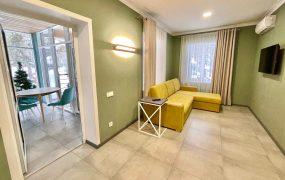 «Маяк» 1-этажный двухкомнатный комфортабельный коттедж (№ 14)